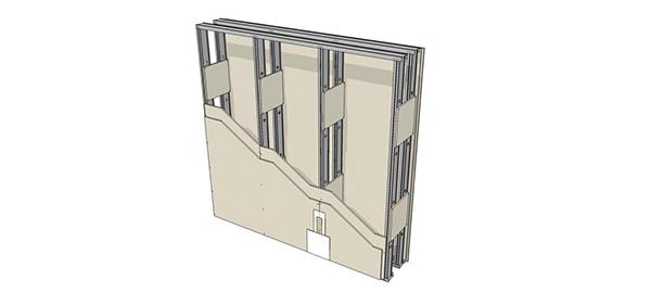 Tipologia de Paredes  Drywall 2