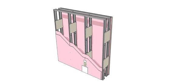 Tipologia de Paredes  Drywall