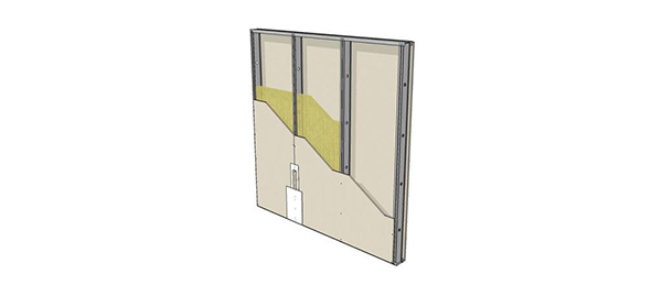 Tipologia de Paredes  Drywall 22