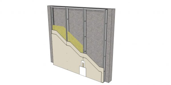 Tipologia de Paredes  Drywall 35